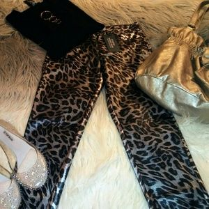Sale! BOGO 50% OFF! New Sexy Tight Leopard Pants
